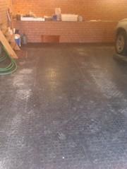 Резиновое промышленное покрытие для пола склада - foto 1