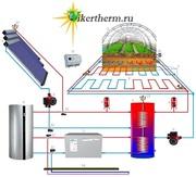 Отопление тепловыми насосами,  плюс солнечными коллекторами. - foto 3