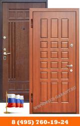 Железные двери с отделкой МДФ - foto 1