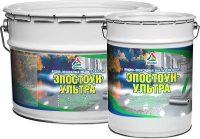 Эпостоун-Ультра - водно-эпоксидная эмаль для бетонного пола (глянцевая) - main