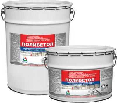Полибетол -  полиуретановая эмаль для бетонных полов без запаха - main