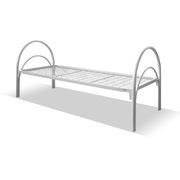 Кровати одноярусные металлические двухспальные - foto 0