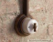 Элитные ретро выключатели и розетки Fontini,  Испания  - foto 1