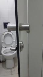 Фурнитура нержавеющая для кабин туалетных сантехнических,  перегородок - foto 8