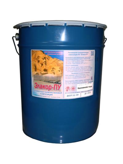 Элакор-ПУ - полиуретановый наливной пол - main