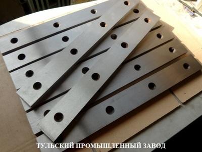 Нож для гильотины Н3118 590х60х16мм в наличии. - main