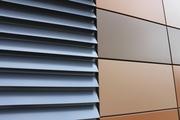 Ламели алюминиевые фасадные - foto 0