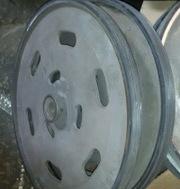 Гуммирование валов и роликов. Восстановление поверхности вала резиновы - foto 1