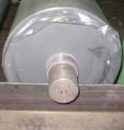 Гуммирование валов и роликов. Восстановление поверхности вала резиновы - foto 3
