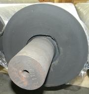 Гуммирование валов и роликов. Восстановление поверхности вала резиновы - foto 5