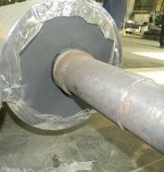 Гуммирование валов и роликов. Восстановление поверхности вала резиновы - foto 6