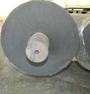 Гуммирование валов и роликов. Восстановление поверхности вала резиновы - foto 8