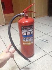 Автомобильный огнетушитель порошковый оп-4 на 5кг - foto 1