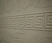 Декоративная штукатурка с трафаретом (Травертино). Италия - foto 2