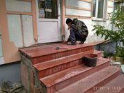 Лестничные ступени,  лестничные площадки,  уличные и межэтажные лестницы - изготовление,  облицовка,  реконструкция - foto 6