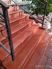 Лестничные ступени,  лестничные площадки,  уличные и межэтажные лестницы - изготовление,  облицовка,  реконструкция - foto 7