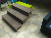 Монолитное приставное крыльцо для дачи,  беседки,  бани,  хозяйственного  - foto 1