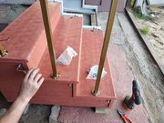 Лестничные ступени,  лестничные площадки,  уличные и межэтажные лестницы - изготовление,  облицовка,  реконструкция - foto 15