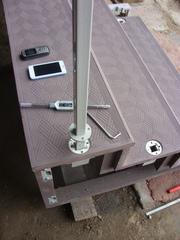Монолитное приставное крыльцо для дачи,  беседки,  бани,  хозяйственного  - foto 6