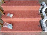 Лестничные ступени,  лестничные площадки,  уличные и межэтажные лестницы - изготовление,  облицовка,  реконструкция - foto 13