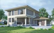 Проект загородного дома В-521
