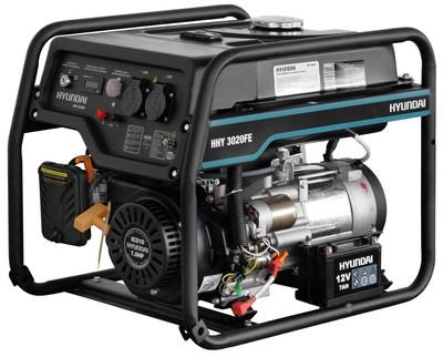 Бензиновый генератор HYUNDAI HHY 3020FE - main