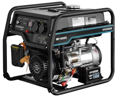 Бензиновый генератор HYUNDAI HHY 5020FE - main