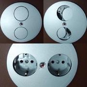 VoltPort Standard выдвижная розетка с LED подсветкой и USB зарядкой - foto 2