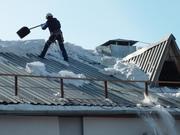 Очистка крыши от снега и наледи - foto 0