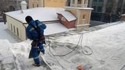 Очистка крыши от снега и наледи - foto 1