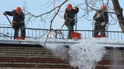 Очистка крыши от снега и наледи - foto 2