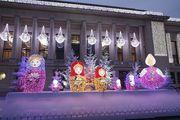 Новогоднее оформление фасада к Новому году - foto 2