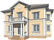 Дизайн-проектирование фасадов коттеджей,  кафе,  ресторанов - foto 0