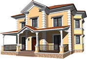 Дизайн-проектирование фасадов коттеджей,  кафе,  ресторанов - foto 3