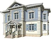 Дизайн-проектирование фасадов коттеджей,  кафе,  ресторанов - foto 4
