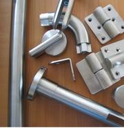 Нержавеющая фурнитура для монтажа кабин и перегородок туалетных hpl - foto 3