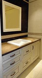 Изготовление эксклюзивной мебели для ванной комнаты на заказ в Москве - foto 4