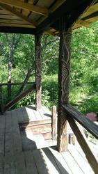 Декоративные балки,  фальшь балки,  опорные столбы,  колонны. - foto 12