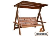 Производство и продажа деревянных качелей. - foto 0