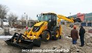 Услуги аренды трактора экскаватора-погрузчика JСB 3 CX. - foto 1