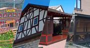 Деревянные сооружения,  декоративные изделия и объекты архитектуры для  - foto 0