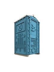 Новая туалетная кабина,  биотуалет Ecostyle