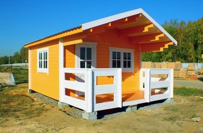 Услуги по строительству мобильных бань бочек,  дачных домов,  беседок. - main