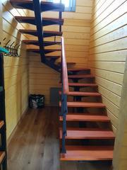 TOP STEPS. Изготовление лестниц по индивидуальным проектам в Москве и МО - foto 7