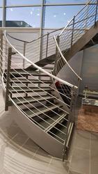 TOP STEPS. Изготовление лестниц по индивидуальным проектам в Москве и МО - foto 9