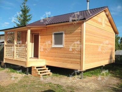 Строительство бань и домов из профилированного бруса. - main