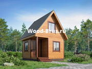 Строительство деревянных домов и бань под ключ - Wood-Brus