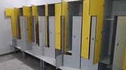 Шкафчики локеры из пластика HPL для раздевалок,  отелей,  бассейнов - foto 3