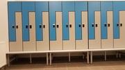 Шкафчики локеры из пластика HPL для раздевалок,  отелей,  бассейнов - foto 4