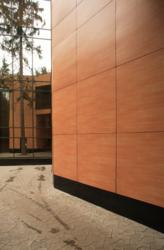 Фасадный защитный пластик HPL для навесных фасадов фасадные панели HPL - foto 2